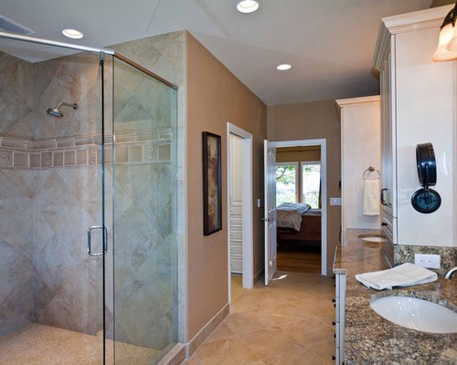 saveemail traditional bathroom - Bathroom Tile Layout Designs
