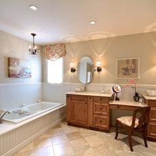Traditional Bathroom by Avalon Interiors