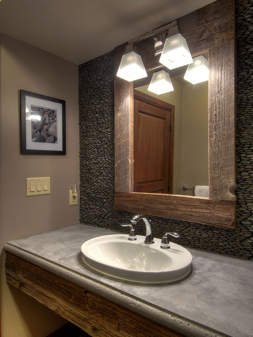 Barnwood Bathroom Houzz