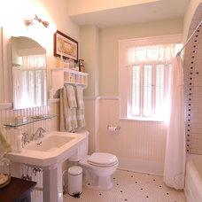 Traditional Bathroom by CB Construction Company