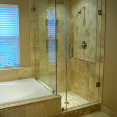 Traditional Bathroom by Blue Tree Builders, LLC