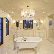 Traditional Bathroom by Carson Poetzl, Inc.