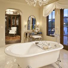 Traditional Bathroom by Carson Poetzl, Inc.