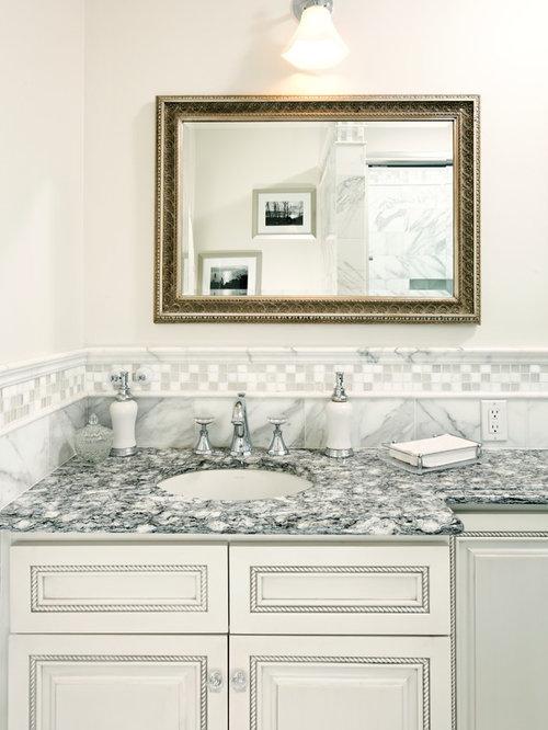 saveemail traditional bathroom - Bathroom Backsplash