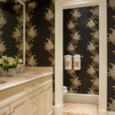 Traditional Bathroom by Catherine & McClure Interiors