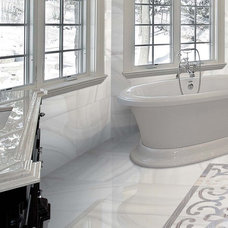 Traditional Bathroom by Cercan Tile Inc.