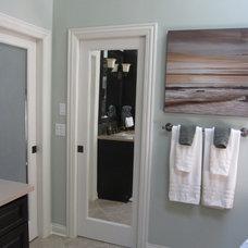 Traditional Bathroom by Compass Design, llc