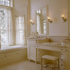 Traditional Bathroom by Conard Romano Architects
