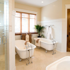 traditional bathroom by Copperline Homes