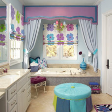 Traditional Bathroom by Count & Castle Designs
