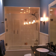 Traditional Bathroom by d.schmunk interior design services