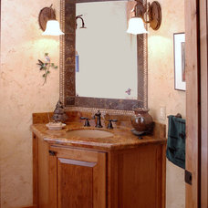Traditional Bathroom by D&M Designs