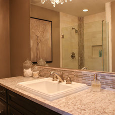 Traditional Bathroom by Devane Design