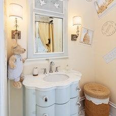 Eclectic Bathroom by Dahlia Design