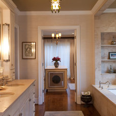 Traditional Bathroom by Emerald Hill Interiors