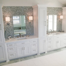 Traditional Bathroom by Erin Sander Design