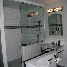 Traditional Bathroom by Form & Function