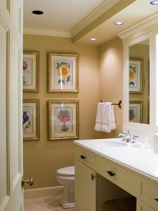 Architectural Soffits With Crown Molding Bathroom Design Ideas
