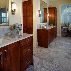 Traditional Bathroom by IAS Kitchen & Bath Design