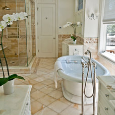 Traditional Bathroom by Artistic Tile