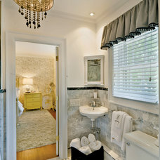 Traditional Bathroom by Kim E Courtney Interiors & Design Inc