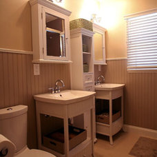 Traditional Bathroom by A.S.D. Interiors - Shirry Dolgin, Owner