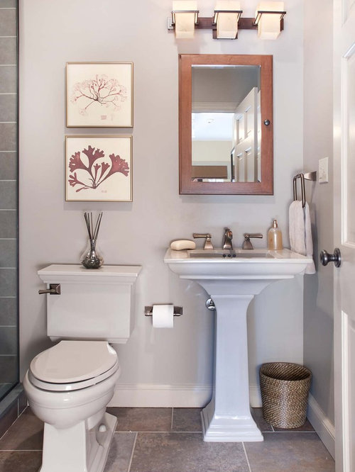 Traditional bathrooms houzz for Bathroom remodel 101