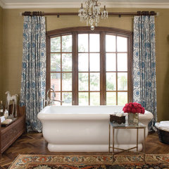 eclectic bathroom by O Interior Design