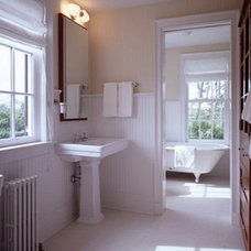 Traditional Bathroom by CWB Architects