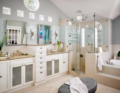 Traditional Bathroom by Laura Britt Design