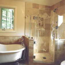 Traditional Bathroom by Leeza Designs