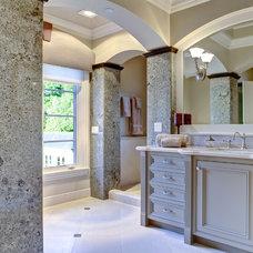 Traditional Bathroom by J. Hettinger Interiors