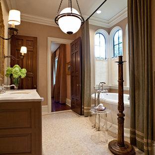 Freestanding bathtub - traditional freestanding bathtub idea in Nashville
