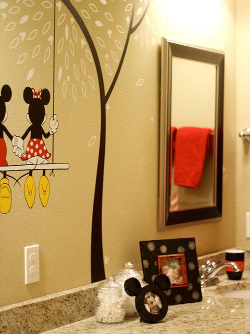 mickey mouse bathroom design ideas, remodels  photos, Bathroom decor