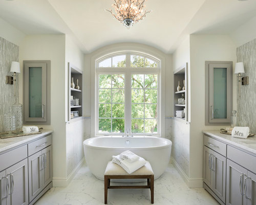 bathroom design ideas, remodels & photos with beaded inset cabinets