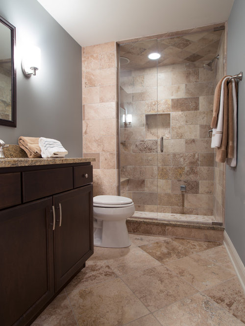 Traditional Home Theater Bathroom Design Ideas