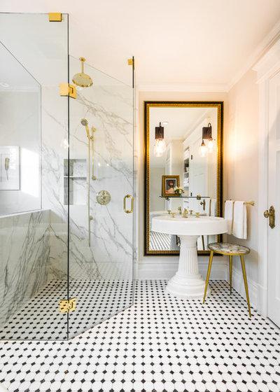 Beautiful Traditional Bathroom by Leanne McKeachie Design