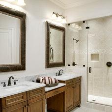 Traditional Bathroom by LGB Interiors