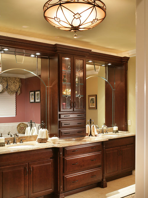 Master Bathroom Cabinets | Houzz