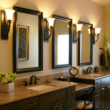 Traditional Bathroom by Marker Girl Home