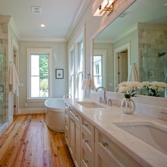traditional bathroom by Melissa Lenox Design