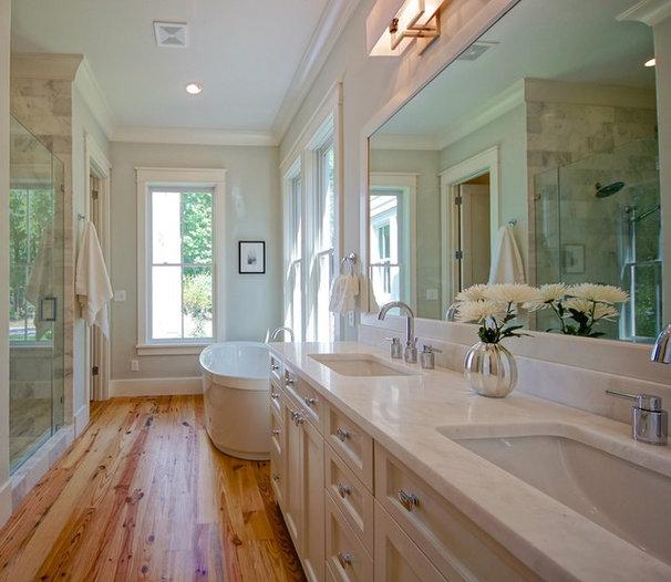 Traditional Bathroom by Melissa Lenox Design
