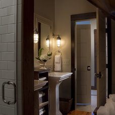 Traditional Bathroom by Michelle Fries, BeDe Design, LLC