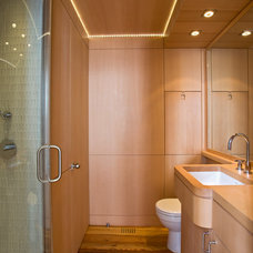 Contemporary Bathroom by Morris Architecture, llc