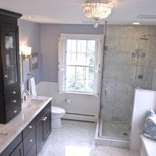 Traditional Bathroom by Norton-O'Brien Design
