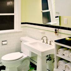 Traditional Bathroom by Paul Michael Davis Design