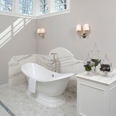 Traditional Bathroom by Eskuche Design