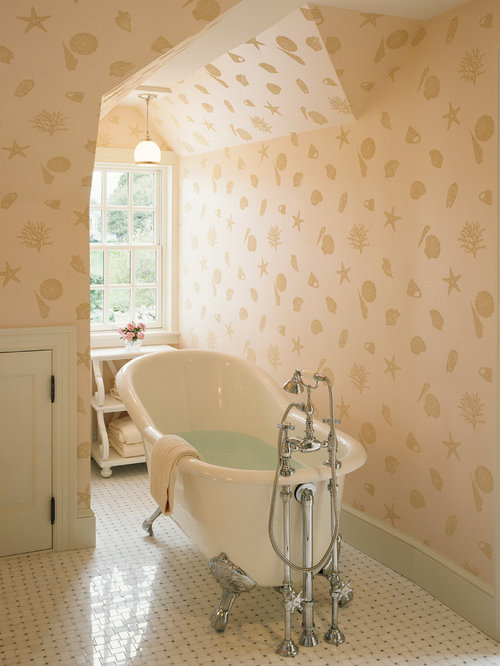 Seashell Wallpaper Home Design Ideas Pictures Remodel And Decor
