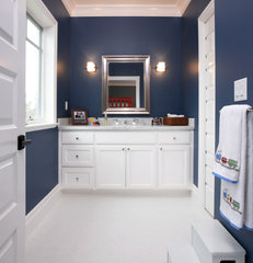 traditional bathroom by Precision Cabinets & Trim