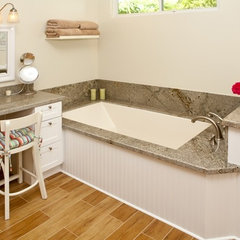 traditional bathroom by Brandi Smith